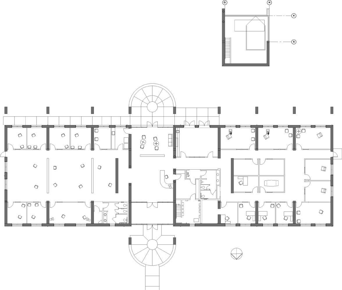 administration building plan